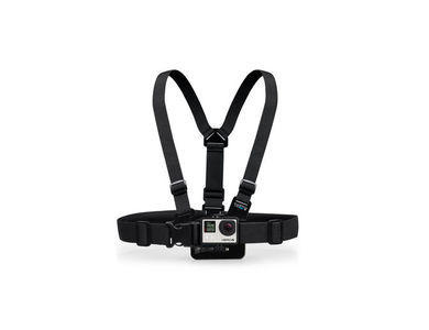 GoPro Chest Harness rental. Add this item to your order to give a whole new perspective. Great for all types of sports and activities where you need to keep your hands free. Ideal for cycling and watersports.