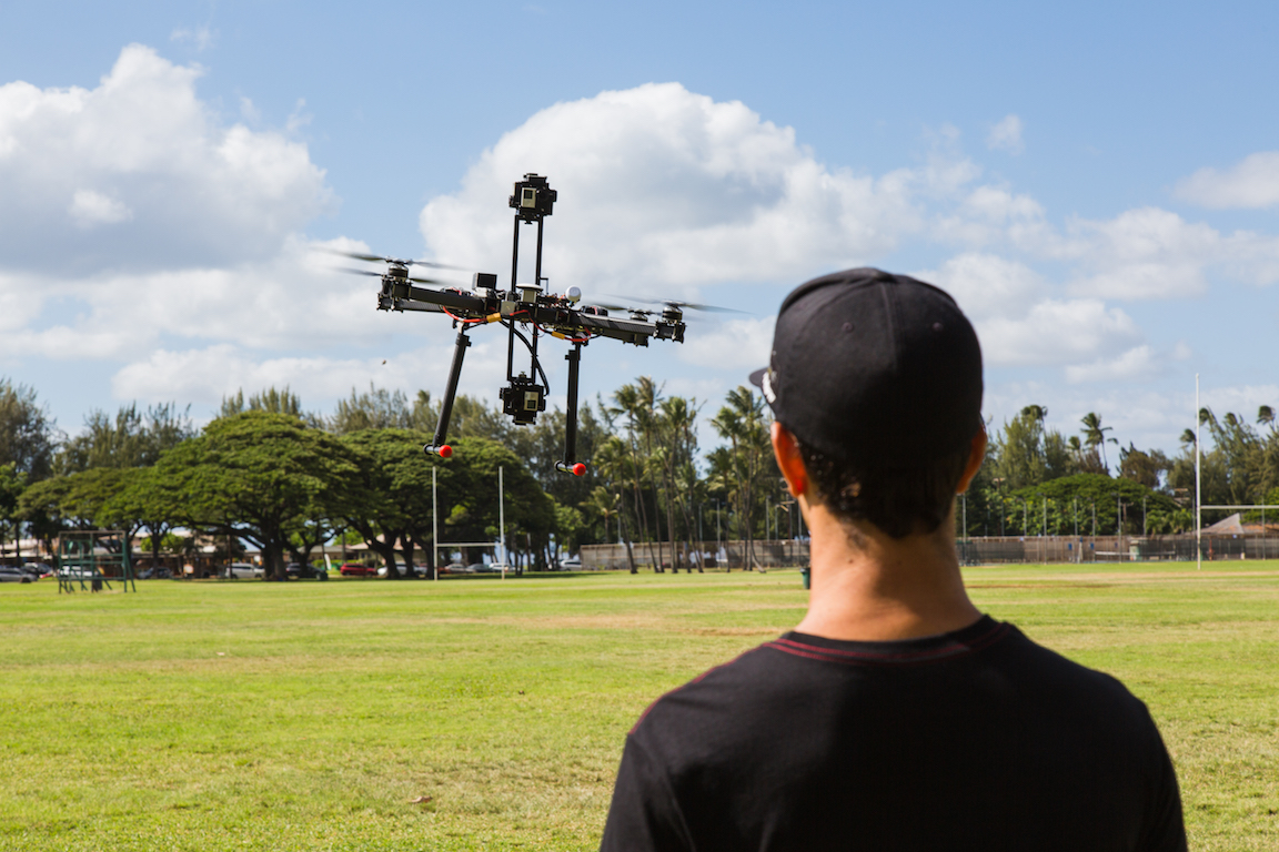 virtual reality drone and aerials